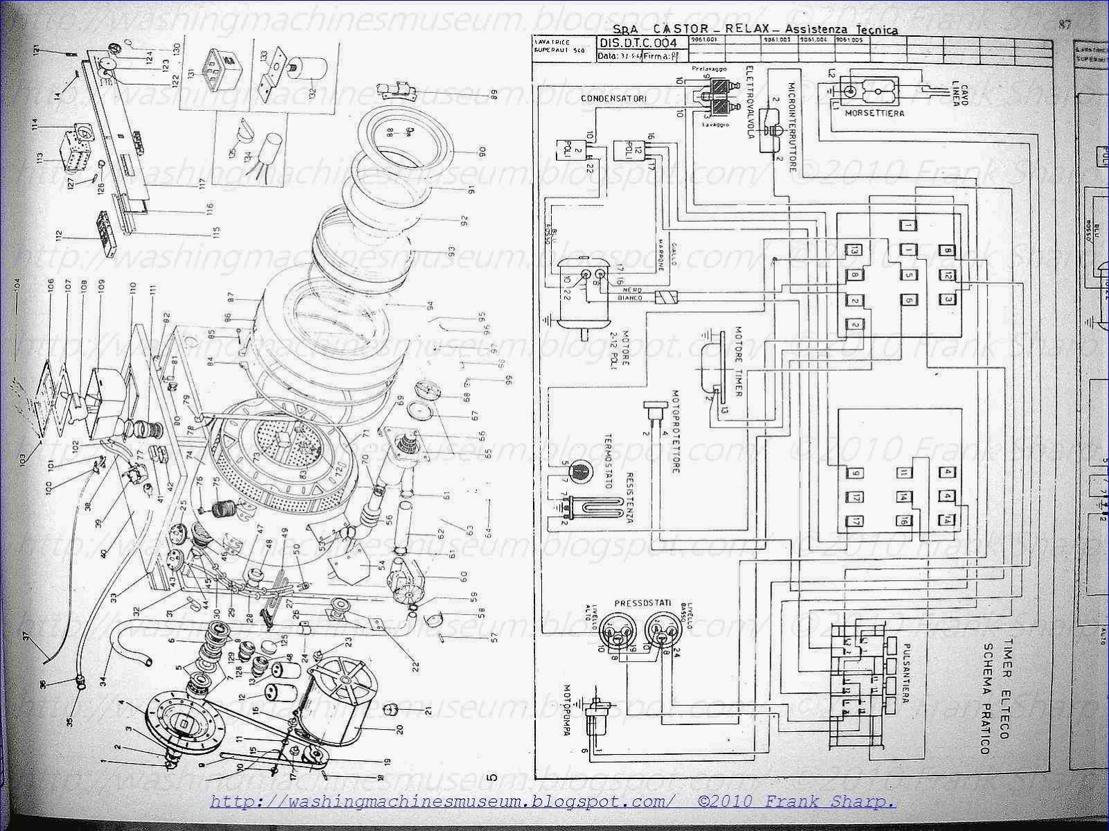 washer rama museum castor s a 540 schematic diagram timer mallory