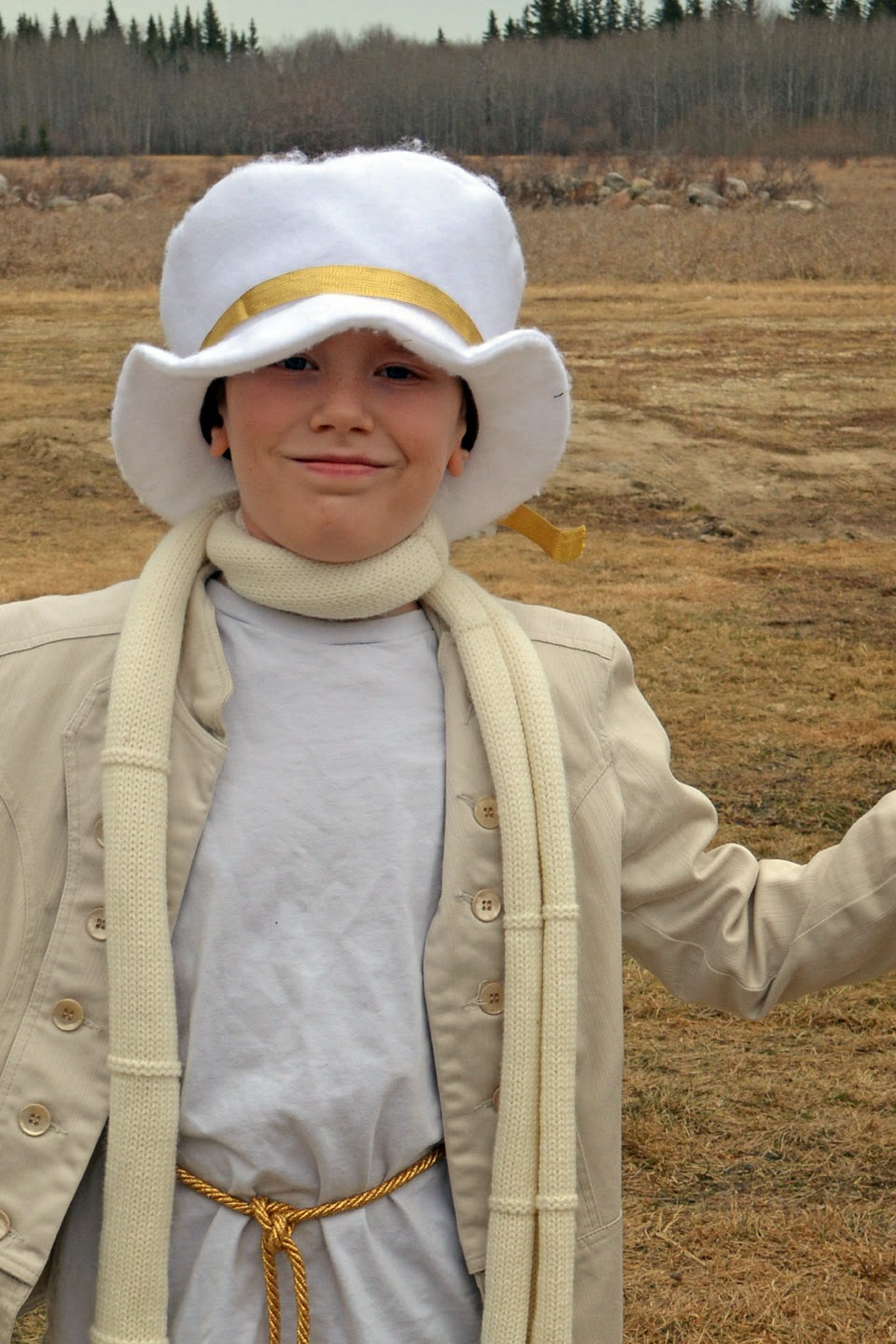 Boy angel costume