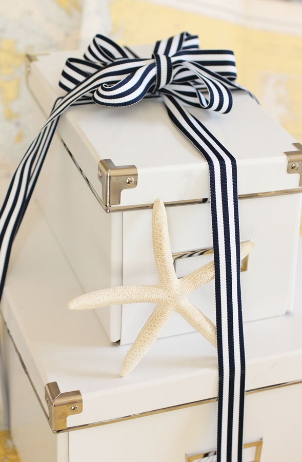 Beach House Living: Coastal Style Gift Wrapping for the Time ...
