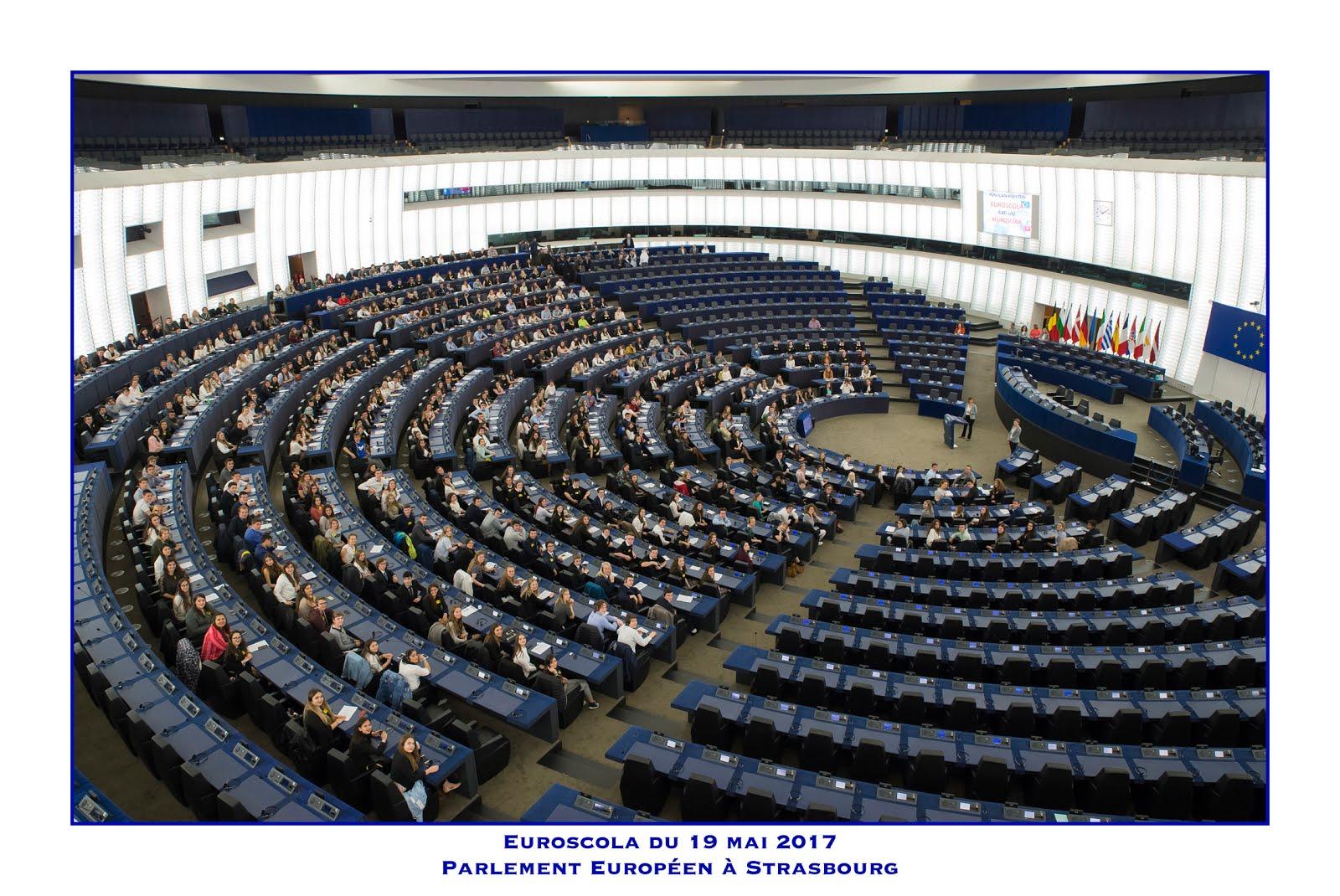 Seduta a Strasburgo
