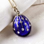 Faberge Egg Pendant Jewelry