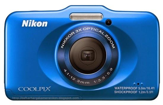 Harga dan Spesifikasi Kamera Nikon Coolpix S32