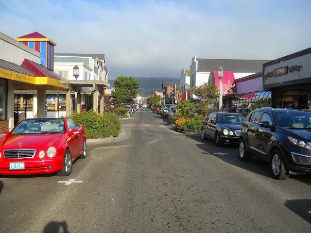 Broadway Street in Seaside