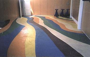 pisos pintados