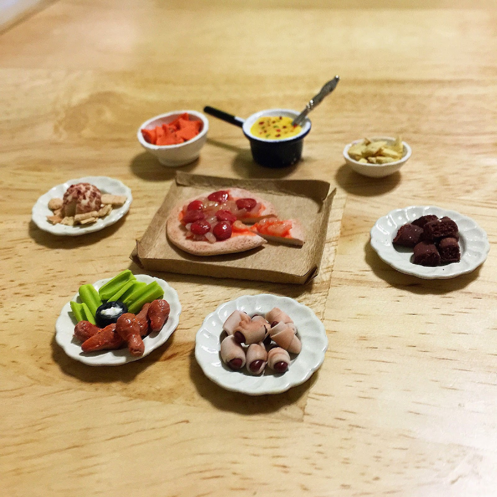 Tiny Super Bowl Spread