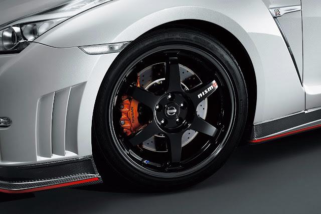 Nissan GT-R nismo rims