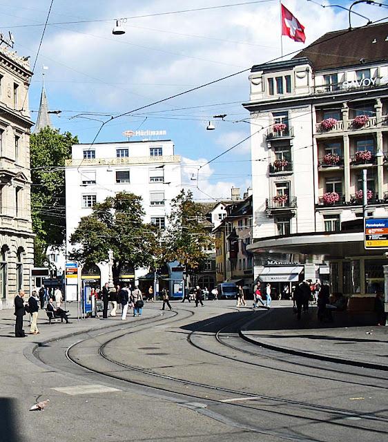 tram rail network