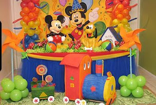 veamos algunas ideas de decoracin de fiestas infantiles de mickey mouse