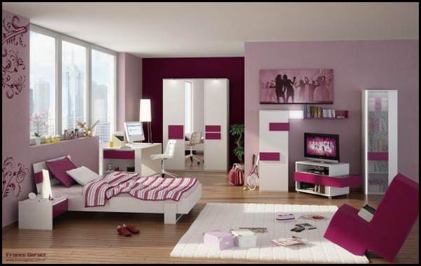 Modern Bedroom For Teenage Girls cool modern teen girl bedrooms | room design inspirations