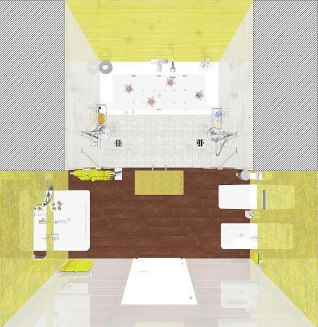 Nuestro Proyecto del mes: Un Baño de Matrimonio con Spa