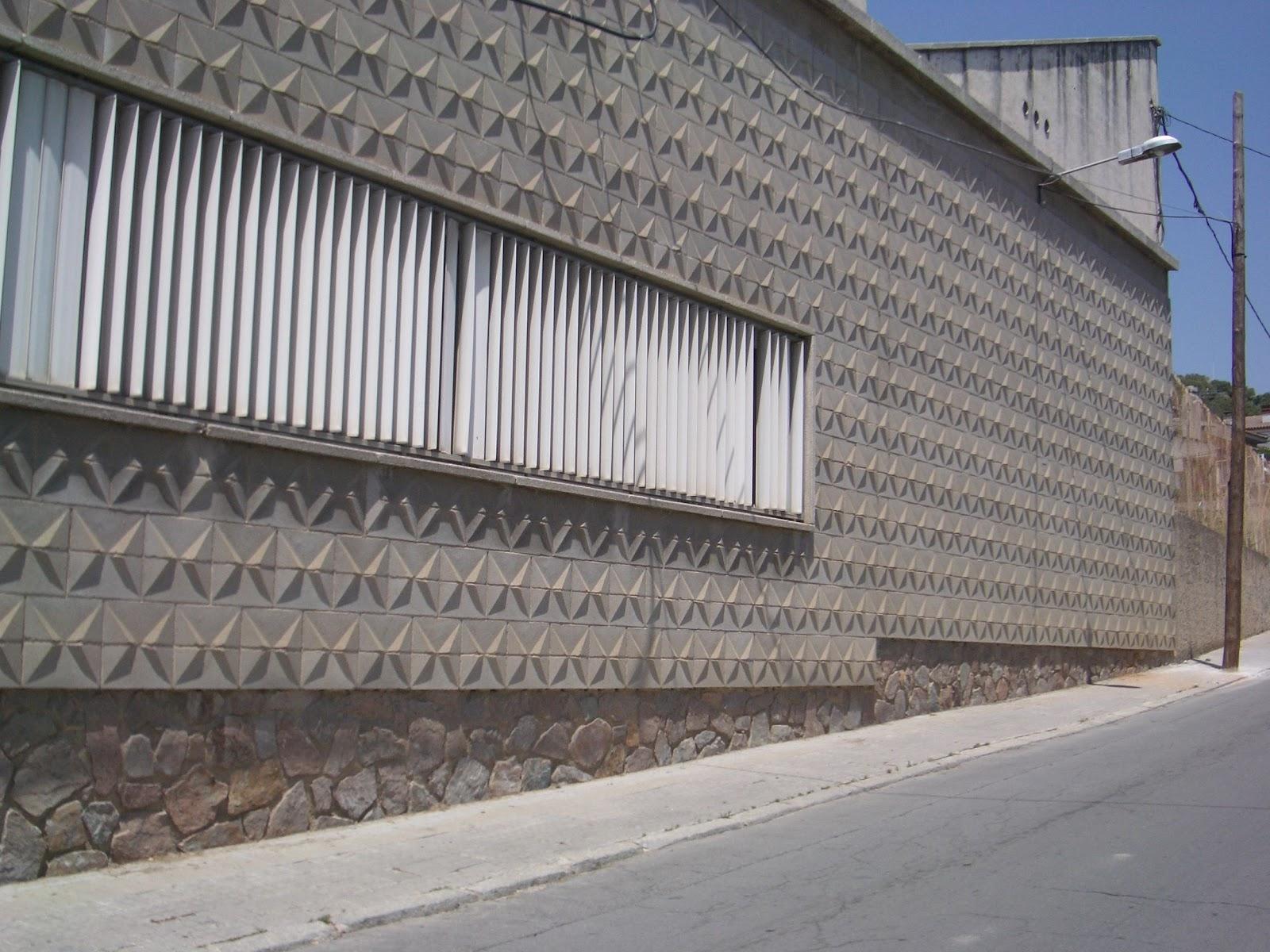 Concrete block machines bloques pintados - Bloques para muros ...