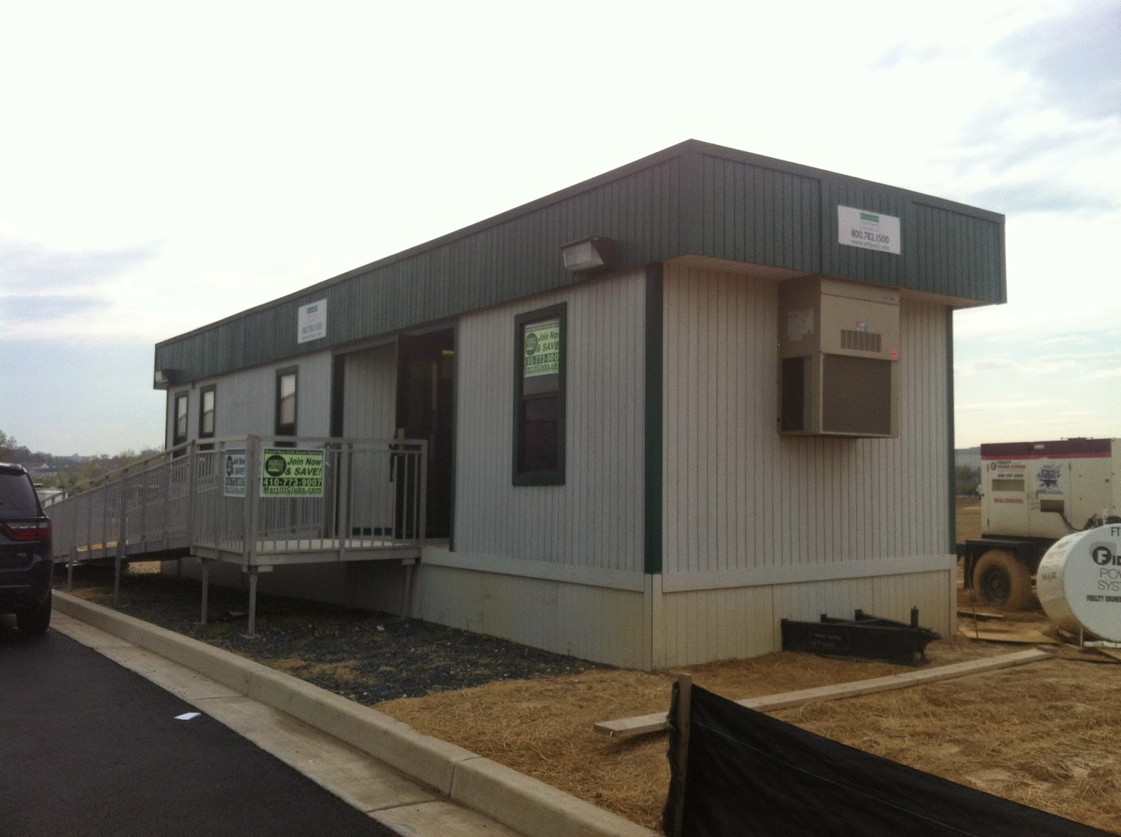 Used modular building for rent in baltimore for Cost to build a house in maryland