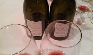 Tasting Bill Downie's Pinots Noir is always a cause for celebration.