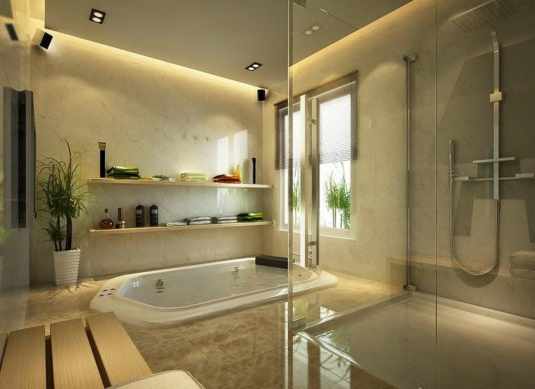 Baños Elegantes Con Jacuzzi:Diseño de Interiores & Arquitectura: Diseño de Interiores Llenos de