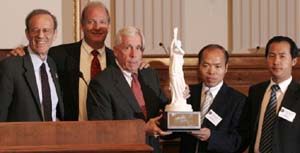 Blind Chinese Activist is US NED Proxy  NEDDemocracyAwards2008