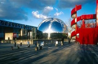 Tempat Wisata Di Paris - Parc de la Villette