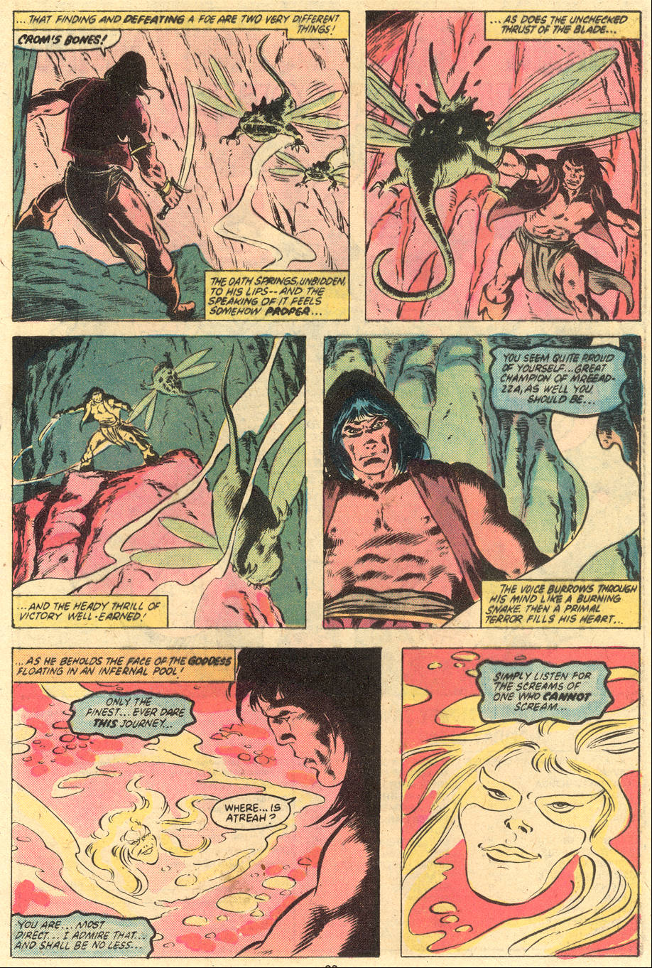 Conan the Barbarian (1970) Issue #121 #133 - English 19