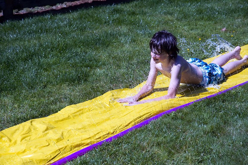 from Porter nude girls slip n slide
