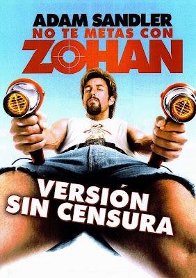 no te metas con zohan pelicula completa (latino) en  youtube