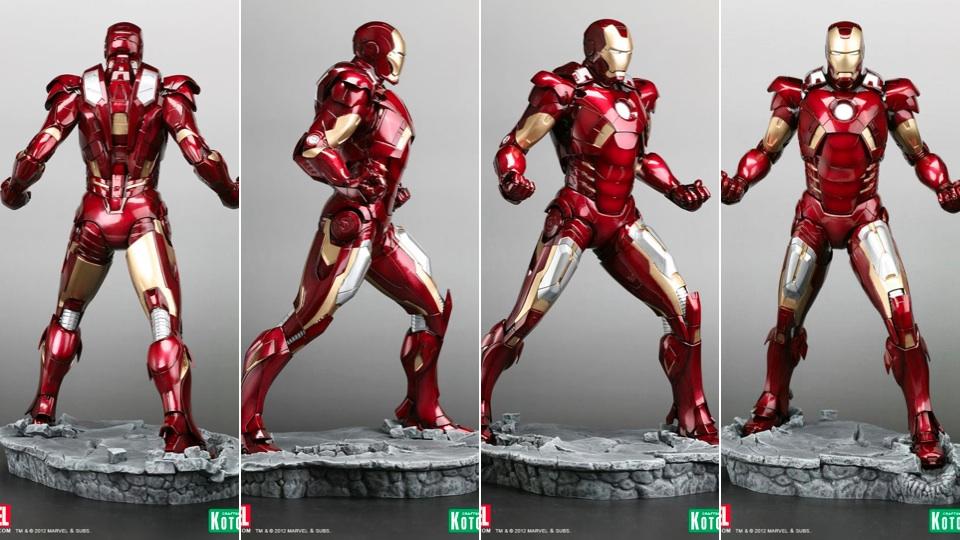 груди Железного Человека