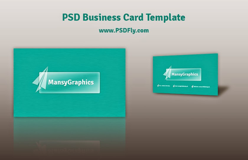 Free psd business card template psd fly download free for Psd business card template free download