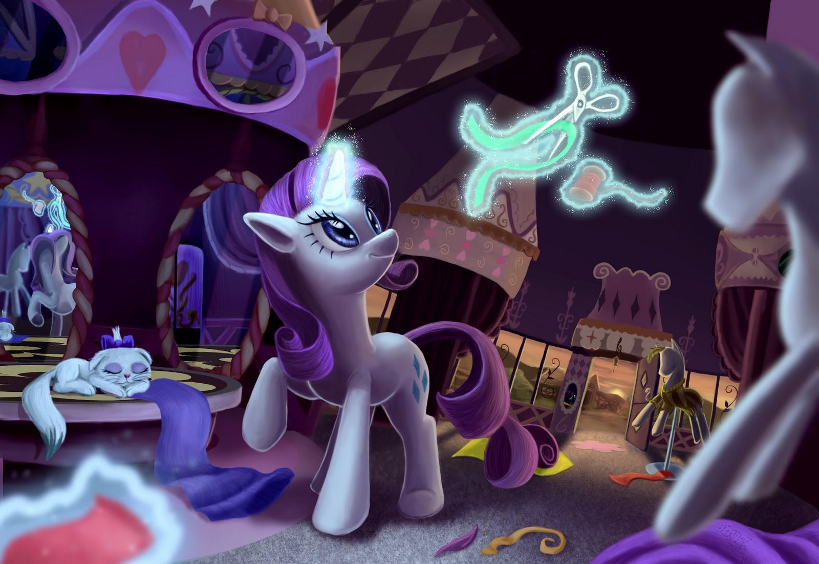 De My Little Pony  La Magia De La Amistad   El Cual Han Ulado