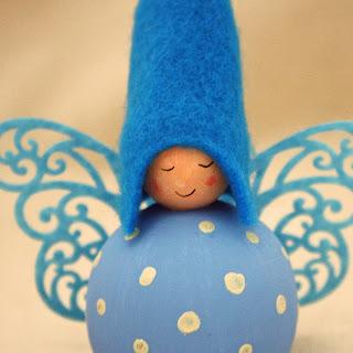 fairy winged spotty elf