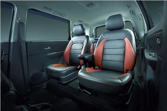 Bahagian tengah tempat duduk penumpang Proton Exora Prime
