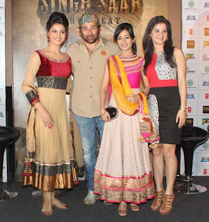 Singh Saab the Great Movie First Look Launch