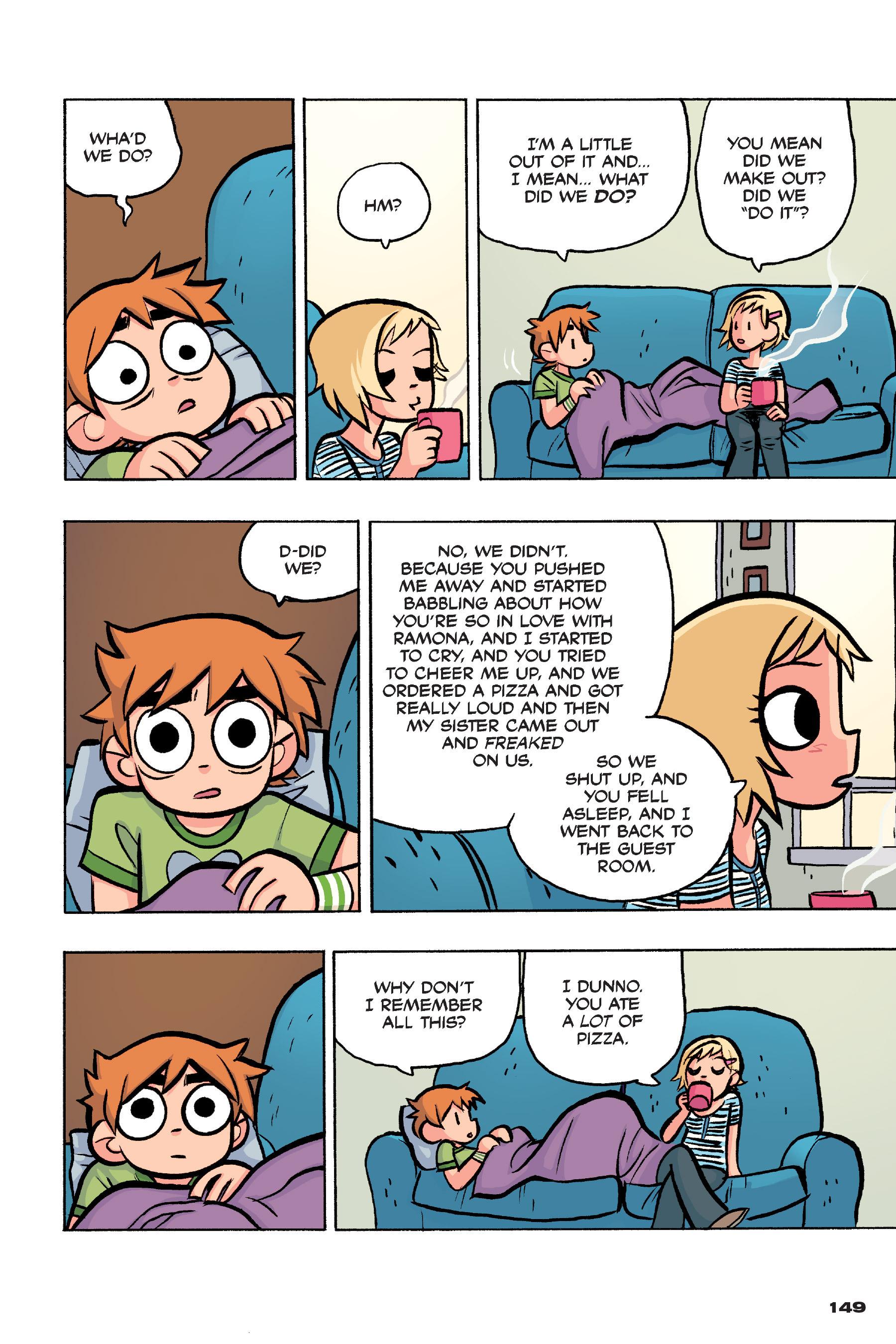 Read online Scott Pilgrim comic -  Issue #4 - 146