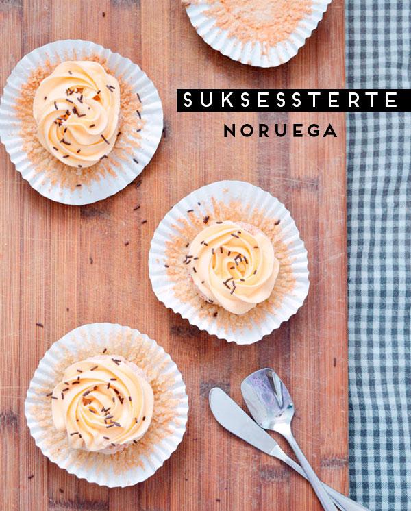 Suksessterte tarta noruega