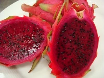Frutas exóticas y bellas - Dragon Fruit
