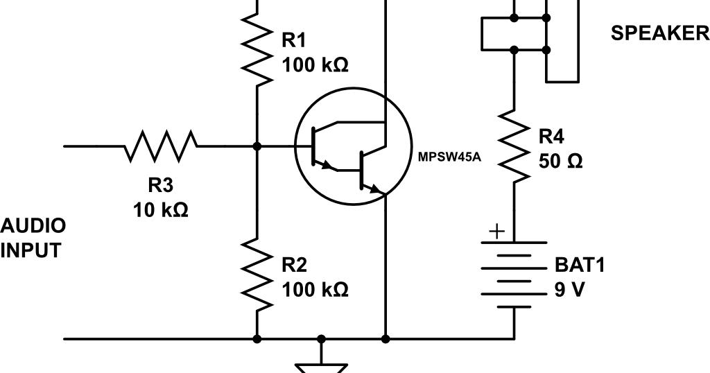 audio amplifier circuit