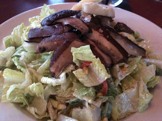 219 An American Bistro Dish: Southwest Caesar with Portobello