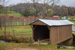 Jacks Creek Covered Bridge, by Judy Parsons Smith