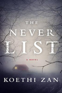 The Never List, Koethi Zan cover