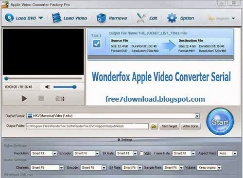 Apple Video Converter Factory Pro Serial Registration Code Free
