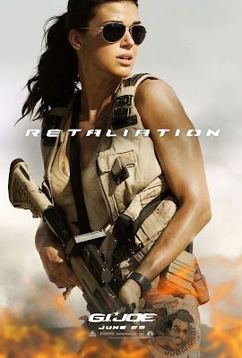 G.I. Joe: Retaliation Character Movie Poster Set 1 - Adrianne Palicki as Layd Jaye