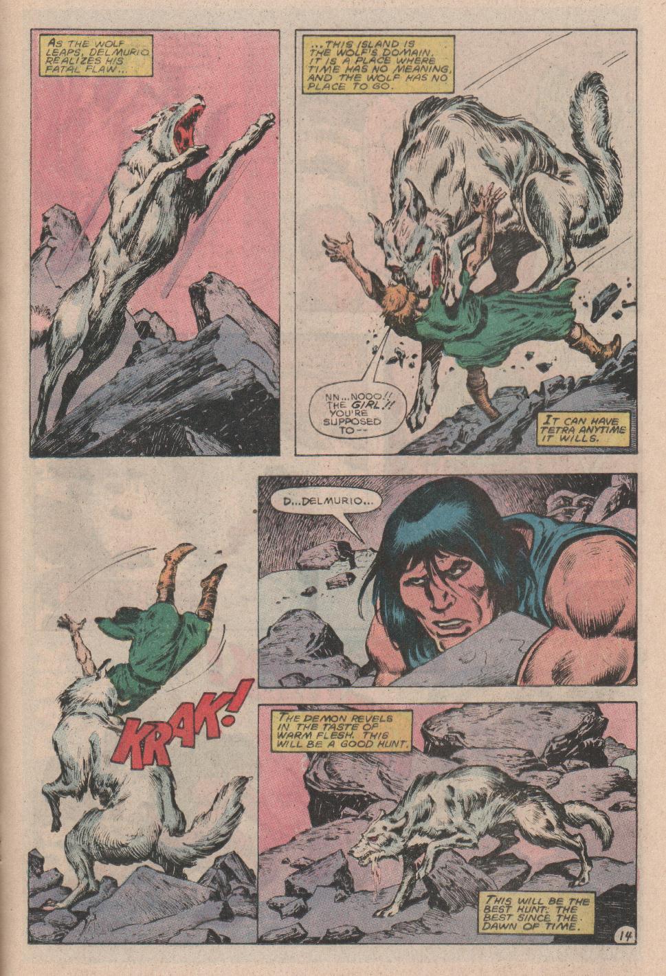 Conan the Barbarian (1970) Issue #178 #190 - English 15