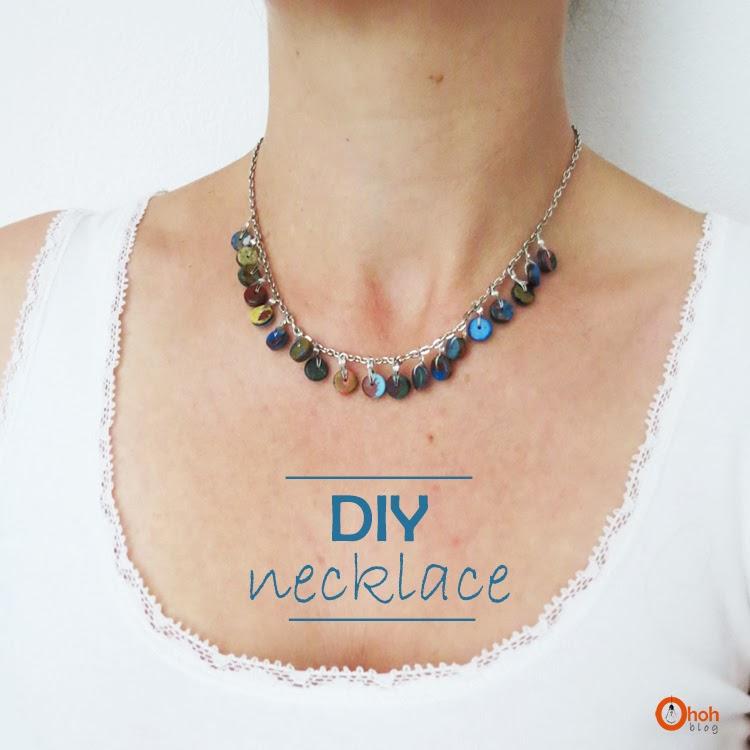 diy necklace ohoh
