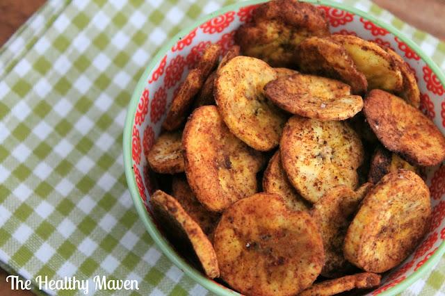 Pumpkin Spice Plantain Chips