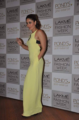 Actress Kareena Kapoor at LFW 2013