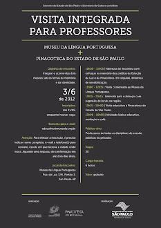 VISITA AO MUSEU DA LÍNGUA PORTUGUESA