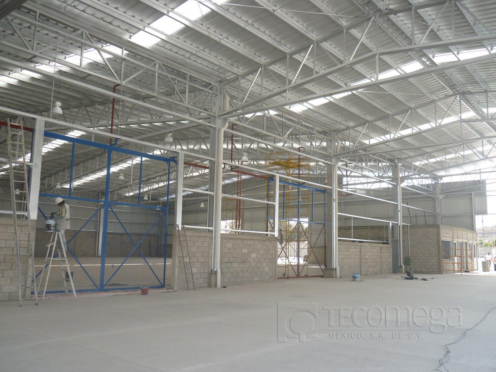 Estructuras Metalicas Tecomega Estructura Metalica Nave