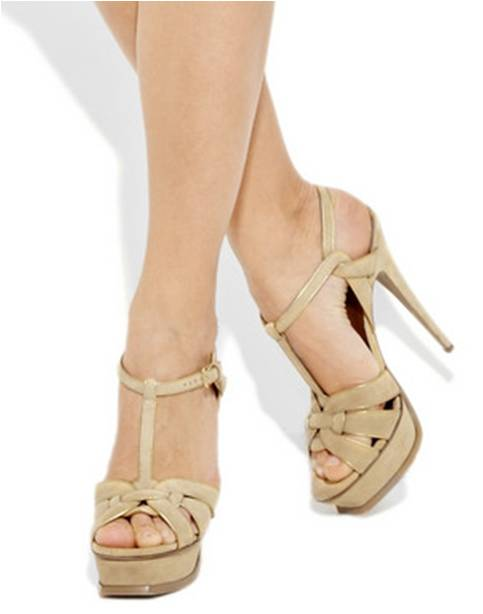49d2dd0336 Women's High Heel Shoes: Stand Tall in Yves Saint Laurent Tribute ...