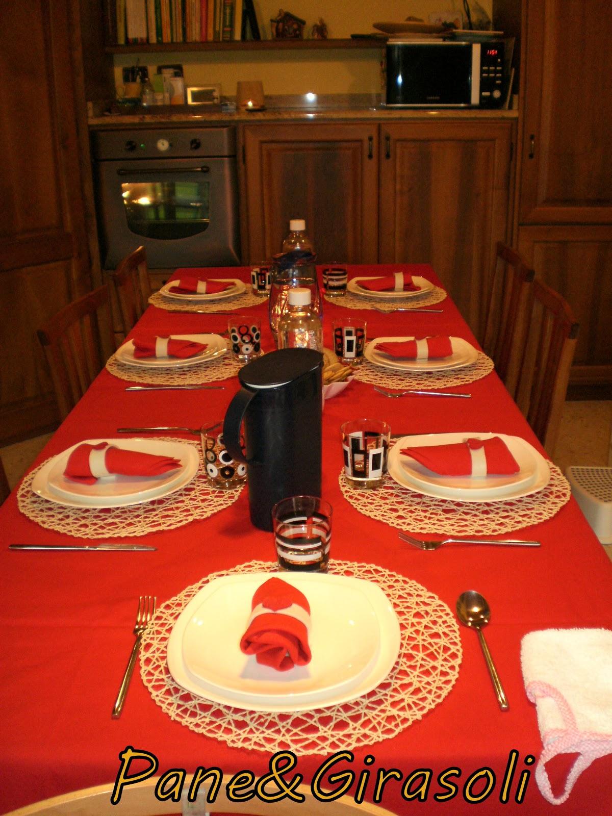 Pane girasoli una bella tavola apparecchiata - Una bella tavola apparecchiata ...