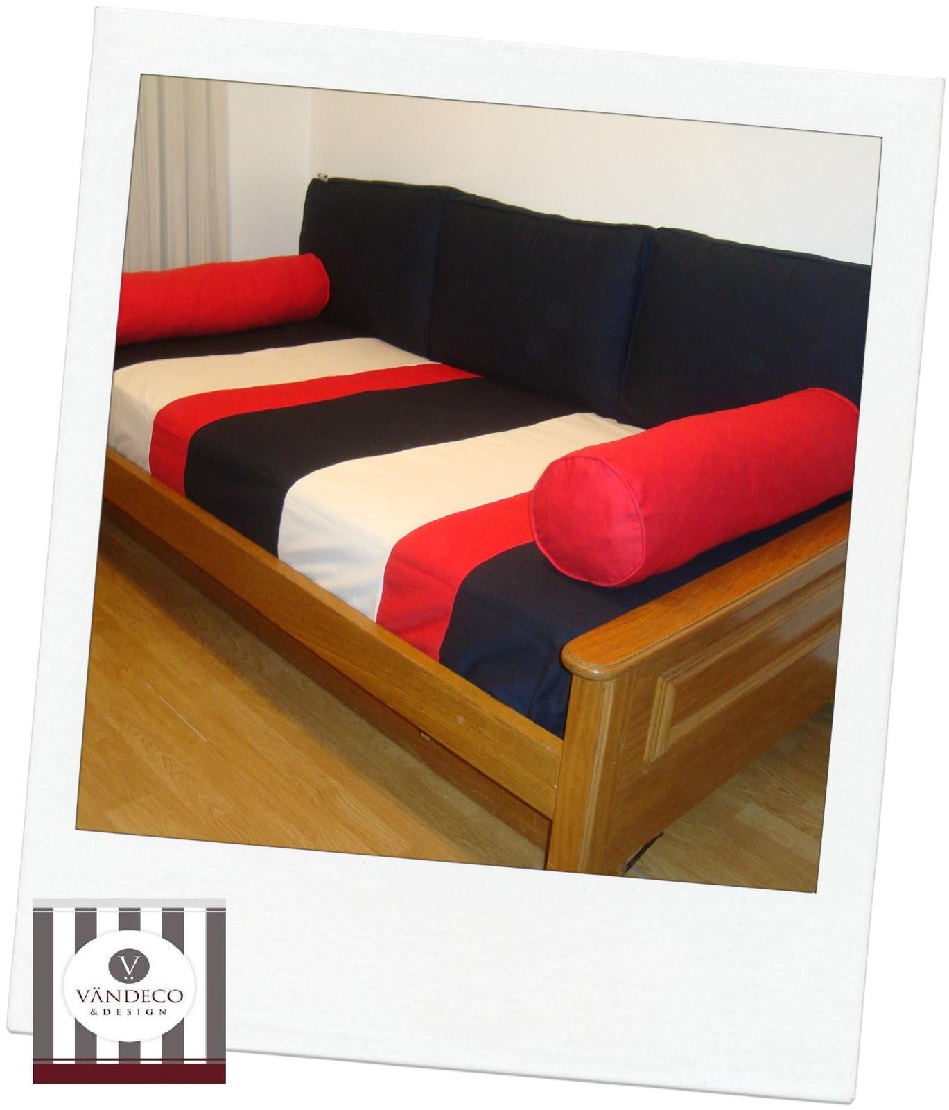 V ndeco design mas ideas de kits para convertir una cama en un sill n - Cuanto puede costar tapizar un sofa ...