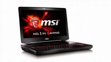 Harga MSI GT80 Titan SLI, Notebook Gaming dengan Keyboard Mekanis