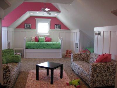 Parkhurst family harrison 39 s new room for Room over garage design ideas