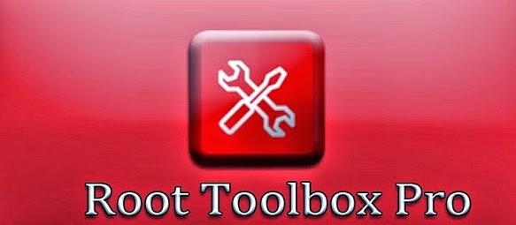 Root Toolbox PRO 3.0.3 Apk